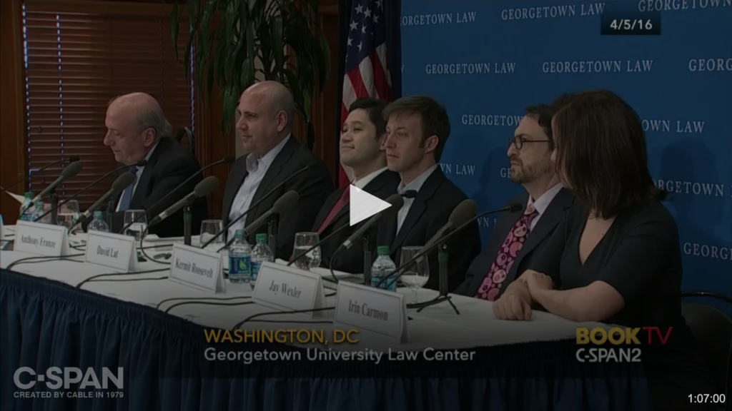 Supreme Court Forum on C-SPAN